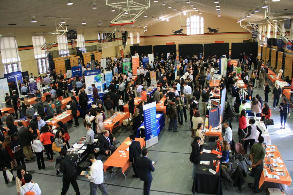 princeton career fair