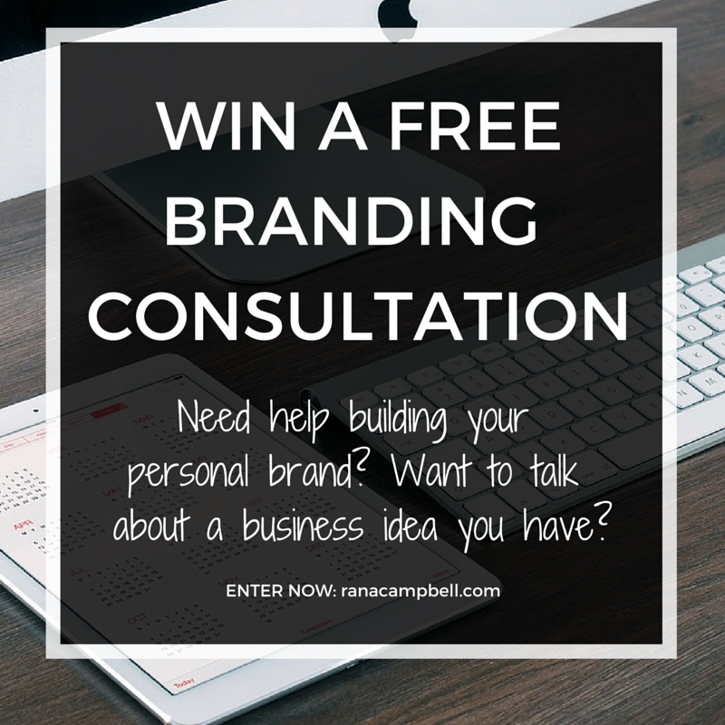 WIN A FREE BRANDING CONSULTATION