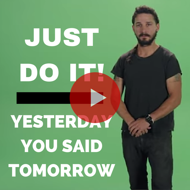 shia lebeouf motivational video